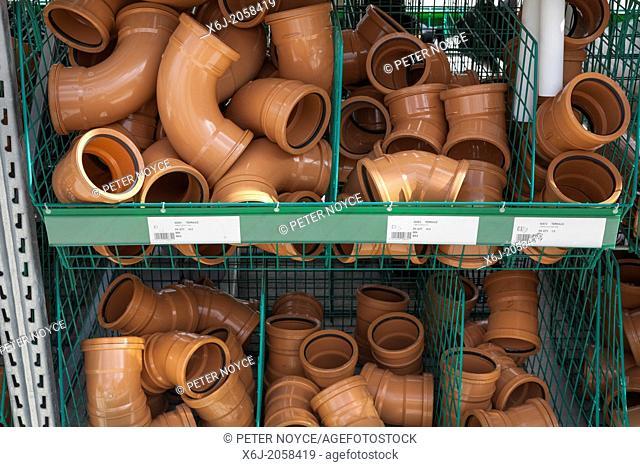 underground drain pipe fittings in builders merchants