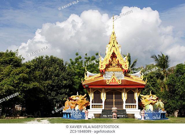 Buddhist temple, Wat Buppharam, Georgetown, Penang hill, Malaysia