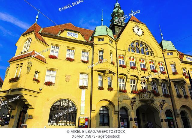 Town Hall. Ptuj. Styria region. Slovenia, Europe