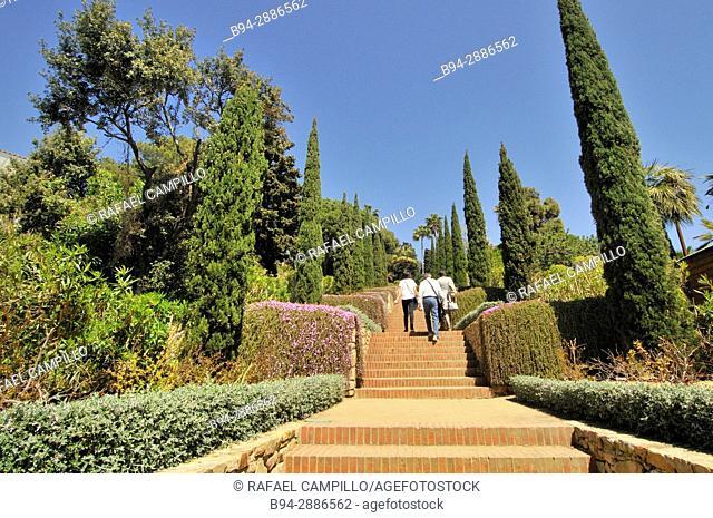 Jardí Botànic Marimurtra, botanical gardens, Blanes, La Selva, Costa Brava, Girona. Catalonia, Spain