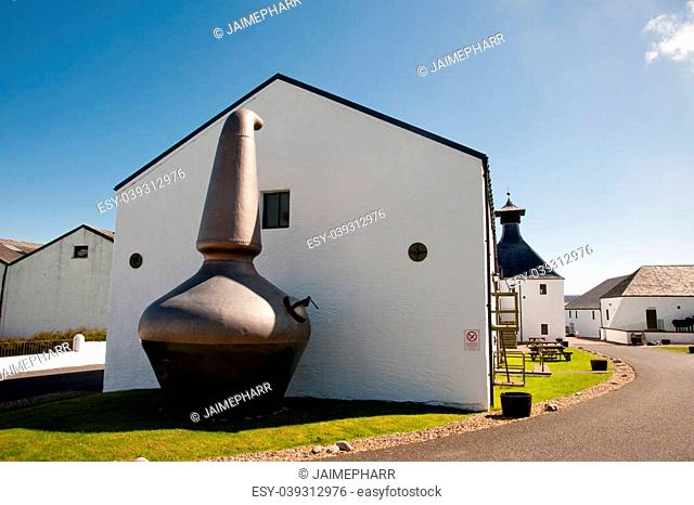 Ardbeg distillery on the isle of Islay