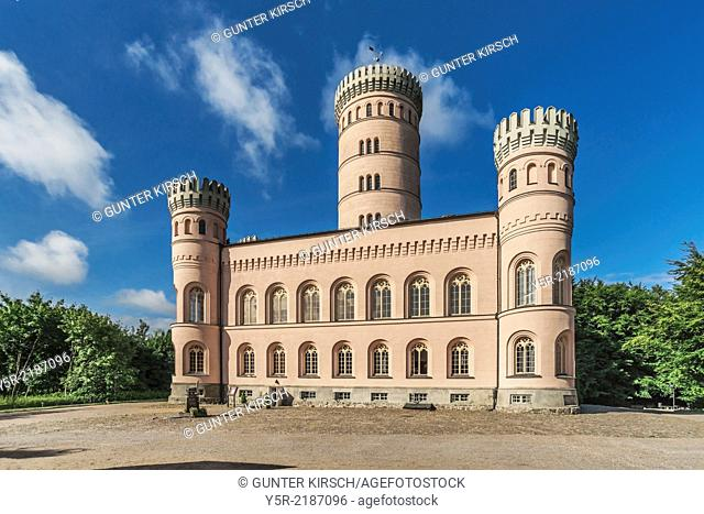 The Granitz Hunting Lodge, was built between 1838 and 1846 in the style of Northern Italian Renaissance castles. The Castle has four small corner towers