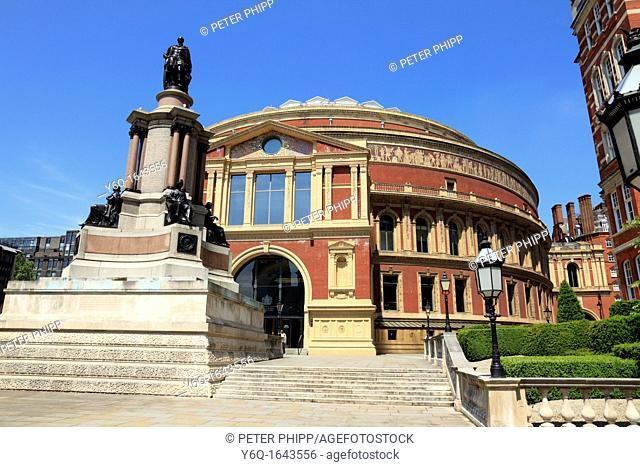 The Royal Albert Hall in Kensington