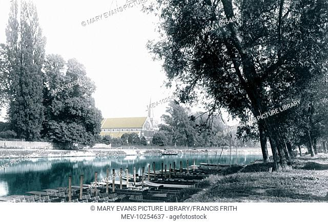 Staines, St Peter's Church 1895