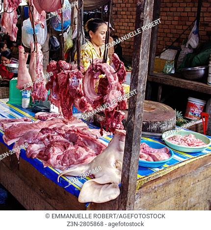 Siem Rep market, Cambodia, South East Asia