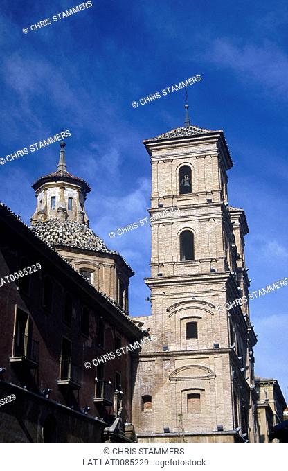 Costa Calida. Church of Santo Domingo
