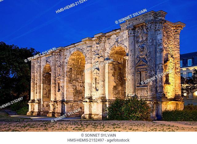 France, Marne, Reims, Arc de Triomphe (Triomphal Arch)