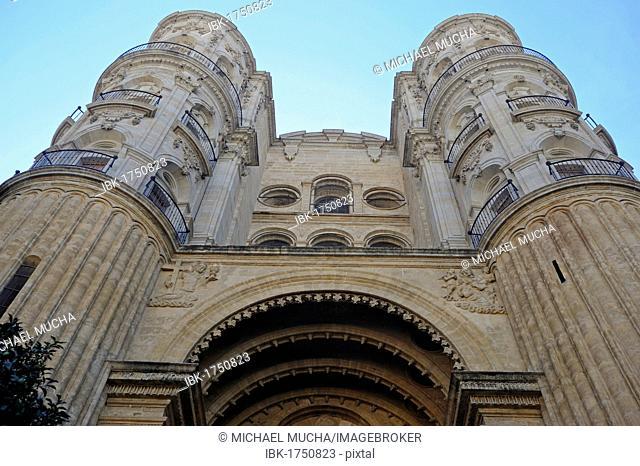 Cathedral, Malaga, Andalusia, Spain, Europe