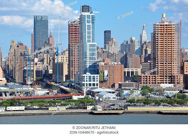View of Manhattan in New York