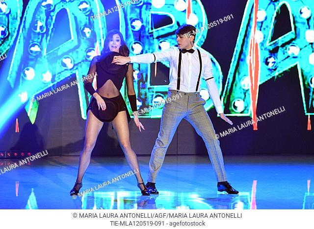 Marco Leonardi during the performance at the tv show Ballando con le setelle (Dancing with the stars) Rome, ITALY-11-05-2019