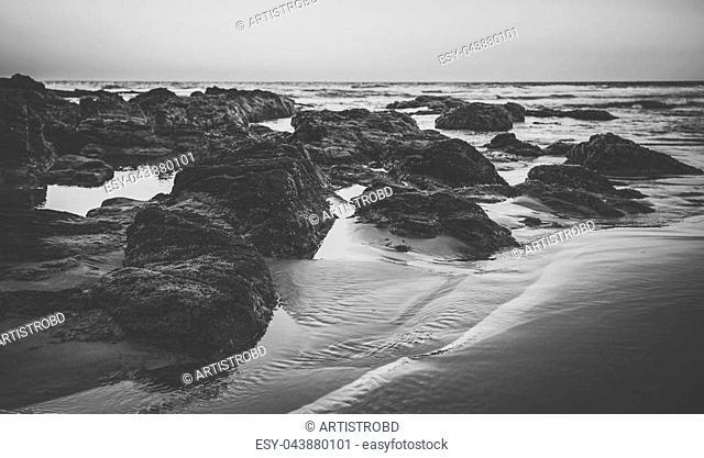 Coolum beach at the Sunshine Coast, Queensland, Australia