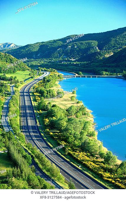Autoroute A51, Alpes de Haute Provence, 04, PACA,