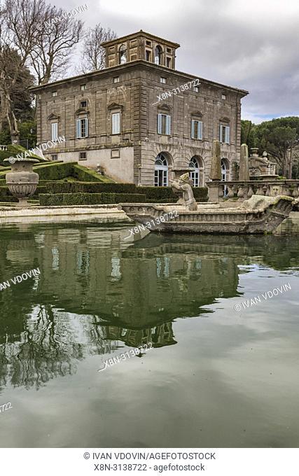 Villa Lante, Bagnaia, Viterbo, Lazio, Italy