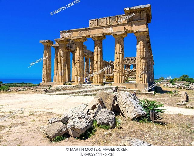 Temple of Hera, Temple E, Selinunte, Marinella, Sicily, Italy