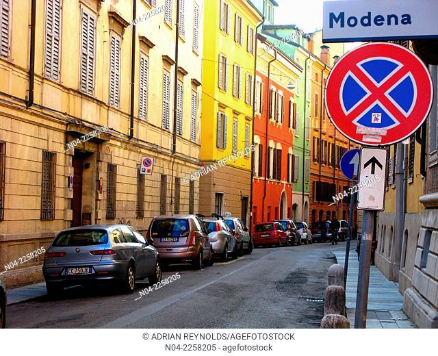 Modena city limits, Emilia-Romagna, Italy