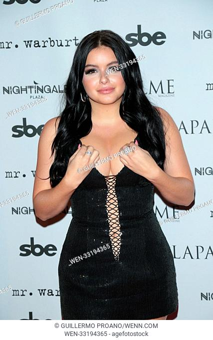 LAPALME Magazine fall cover party at Nightingale Plaza - Arrivals Featuring: Ariel Winter Where: Los Angeles, California