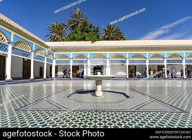 el Bahia palace (CTK Photo/Ondrej Zaruba)
