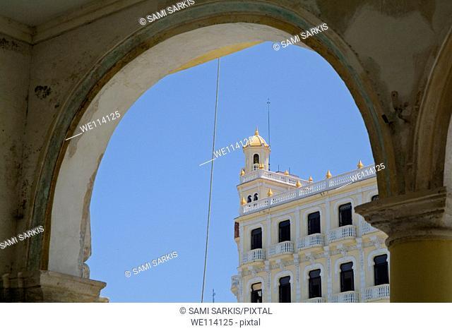 Camera Oscura building on Plaza Vieja in Havana, Cuba