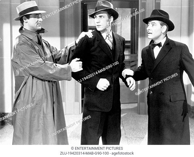 RELEASED: Aug 20, 1942 - Original Film Title: The Talk of the Town. PICTURED: CARY GRANT, RONALD COLEMAN. (Credit Image: © Entertainment Pictures/Entertainment...