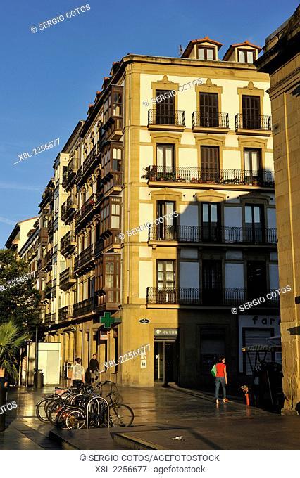 Boulevard of Donostia