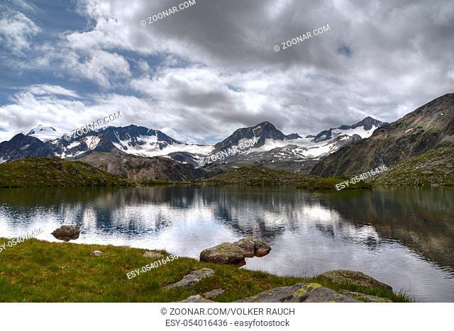 mutterberger seen, mutterberger see, see, bergsee,  stubai, bergwandern, stubaier alpen, stubaital, alpen, berg, gebirge, hochgebirge, alpin, gipfel, landschaft