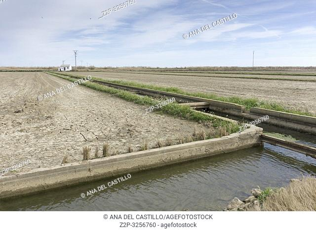 Port of Catarroja link with Albufera natural park Valencia Spain