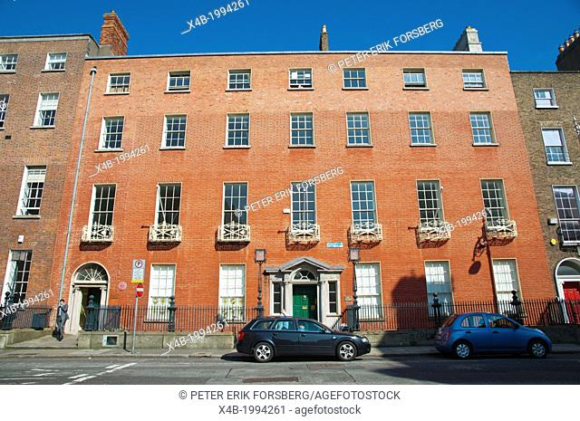 Georgian style Ely House (1775) central Dublin Ireland Europe