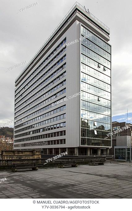 Edificio San Vicente, Bilbao, Biscay, Vasque Country, Spain