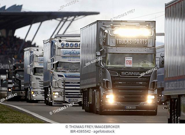 ADAC Truck Grand Prix 2016, Nürburgring race track, Nürburg, Rhineland-Palatinate, Germany