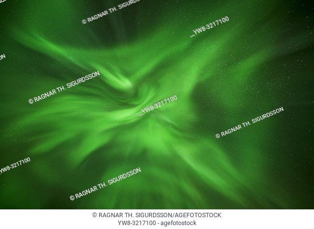 Aurora Borealis and Corona, Iceland