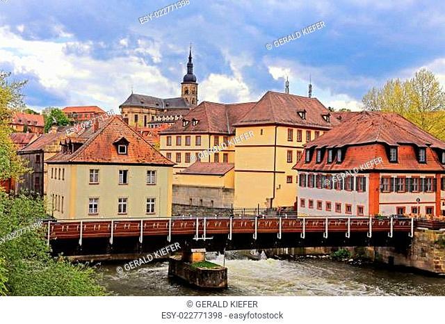 Der Geyerswörthsteg in Bamberg