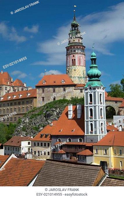 View of Cesky Krumlov (Czech Republic)