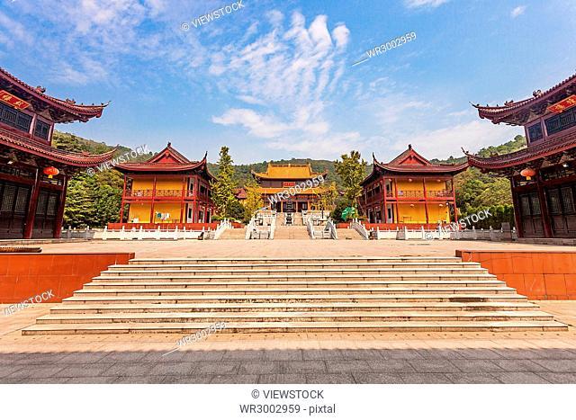 Huazang Temple of Wuxi City,Jiangsu Province,China
