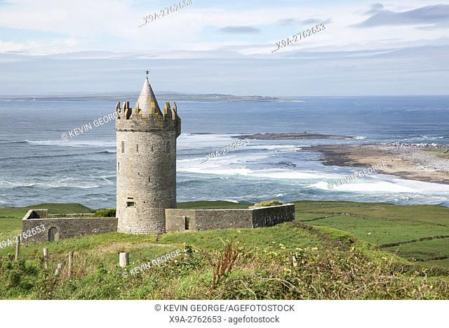 Doonagore Castle, Doolin, Clare, Ireland