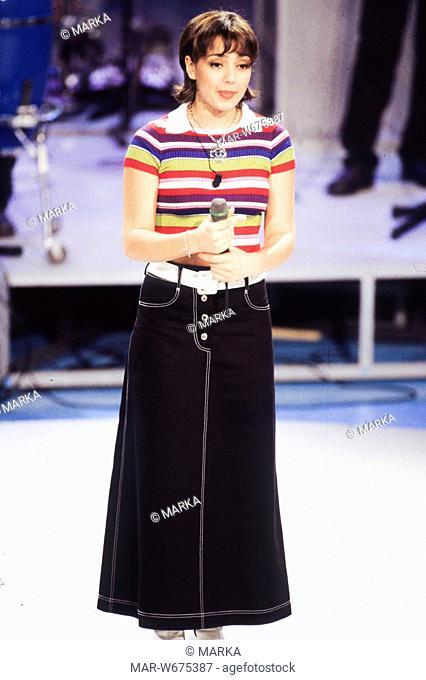 ambra angiolini, anni '90