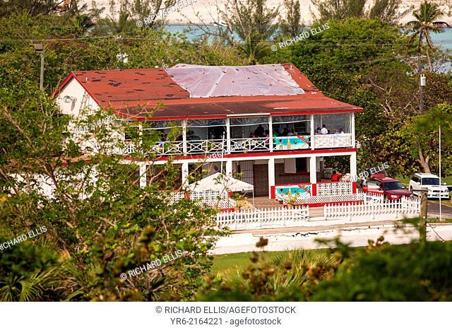 Bahamian Cricket Association clubhouse at Haynes Oval Nassau, Bahamas, Caribbean