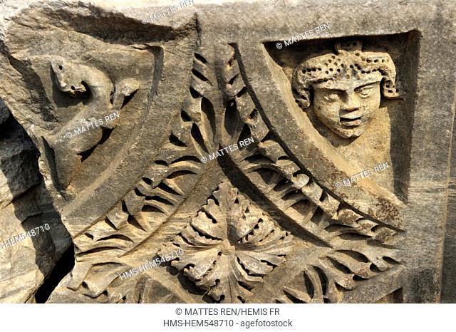 Turkey, Mediterranean Region, Turquoise Coast, Pamphylia, Perga antic site