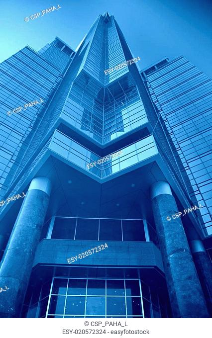 blue Administrative building