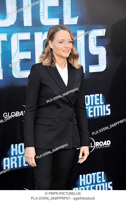 "Jodie Foster at the """"Hotel Artemis"""" Los Angeles Premiere held at the Bruin Theater in Los Angeles, CA on Saturday, May 19, 2018"