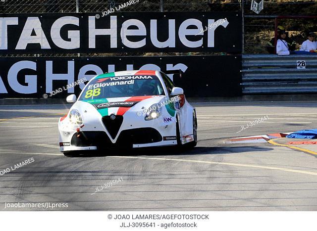 F. Giovanardi, Alfa Romeo Giulietta #88, WTCR Race of Portugal, Vila Real, 23-25 June 2018, Portugal