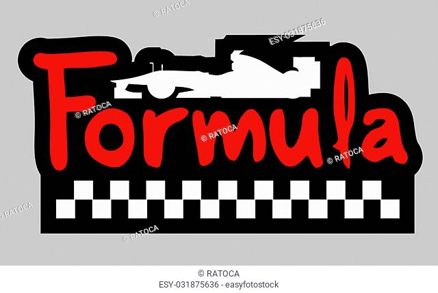 Creative design of formual symbol
