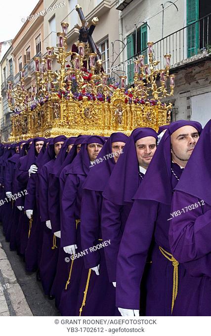 Semana Santa Holy Week Malaga, Andalusia, Spain
