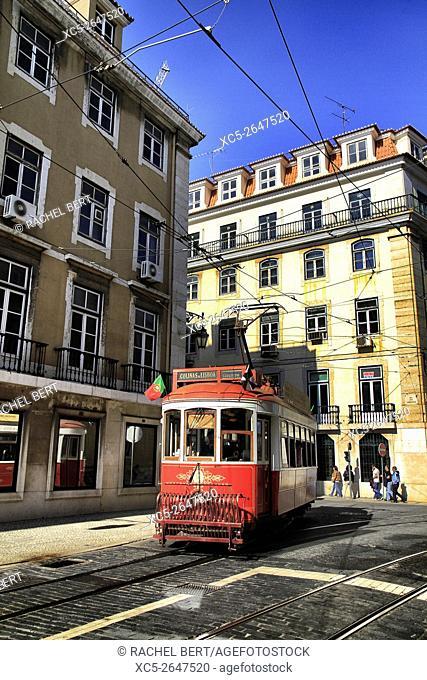 Rua dos Franqueiros, Lisbon, Portugal