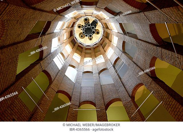 Interior, bell tower, French Cathedral, Gendarmenmarkt, Berlin, Germany