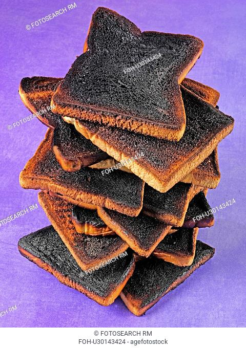Stack of Burnt Toast - Non Exclusive