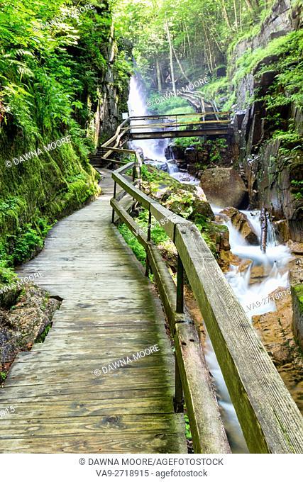 The Flume Gorge, Lincoln, New Hampshire