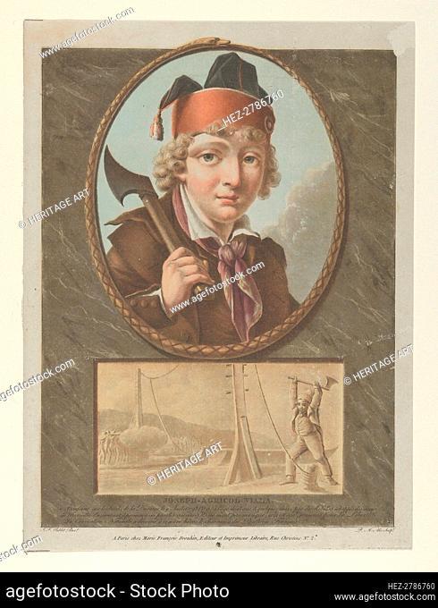 Joseph-Agricol Viala, after Sablet, ca. 1795. Creator: Pierre Michel Alix