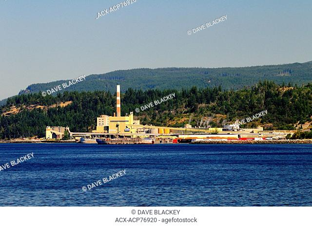 The Catalyst Pulp Mill in Powell River, BC