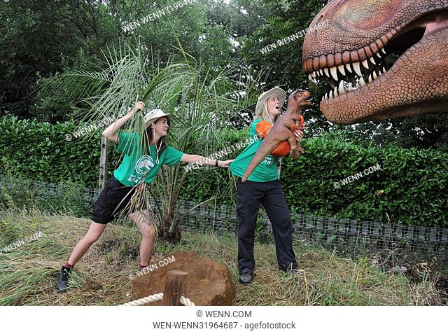 London Zoo launches Zoorassic Park at ZSL London Zoo. Visitors will be taken back in time to a prehistoric world where they will come face-to-face with moving...