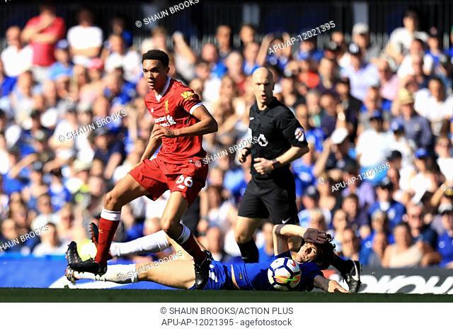 2018 EPL Premier League Football Chelsea v Liverpool May 6th. 6th May 2018, Stamford Bridge, London, England; EPL Premier League football